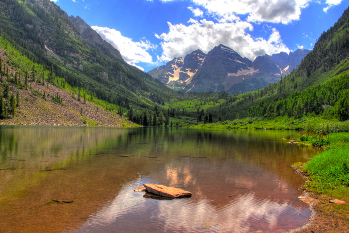 3. Take in the glorious Maroon Bells for an entire hour.