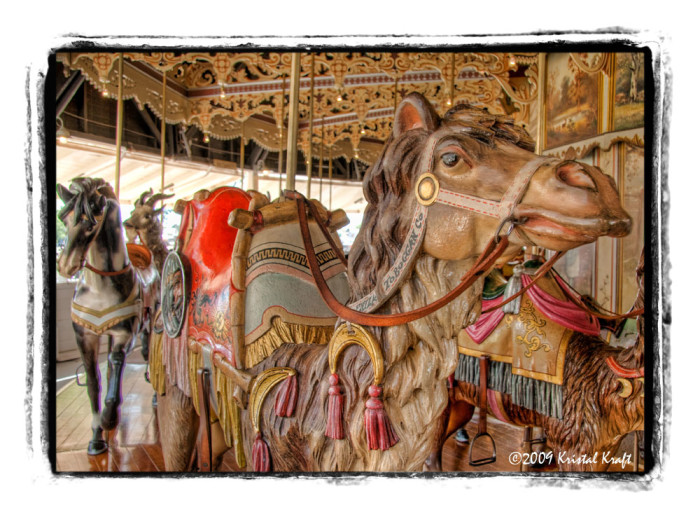 2. Travel back in time on the old Kit Carson County Carousel.