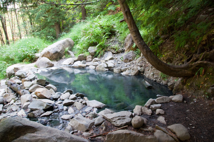 2. Olympic Hot Springs