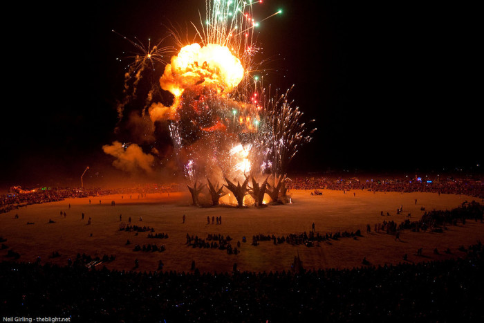 3. Burning Man