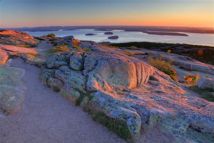 8. Acadia All-American Scenic Roadway