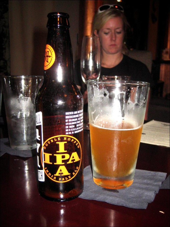 3. Inadequate beer choices at a restaurant.