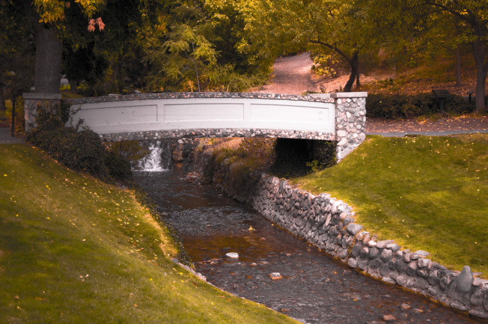 1. Memory Grove Bridge