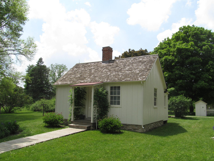 3. West Branch: The birthplace of Herbert Hoover.