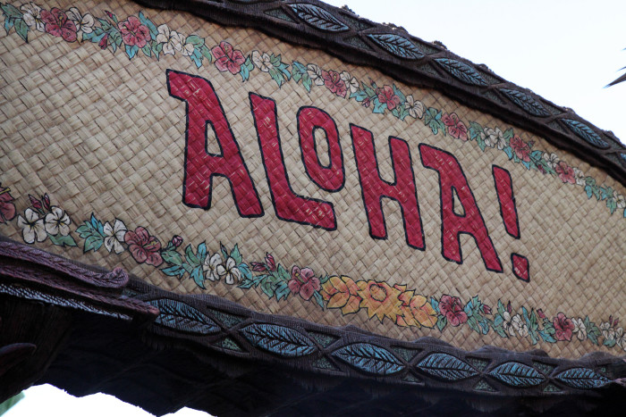 4) The Aloha Spirit