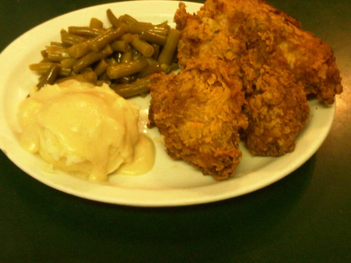 4.  Great country home cooking throughout the state's many small towns.