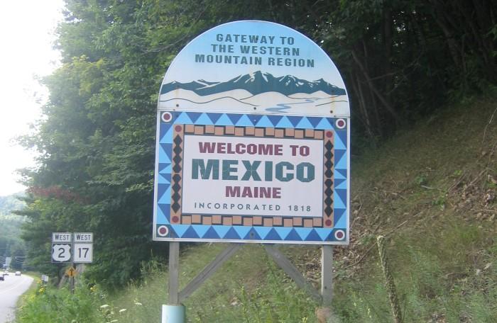 9. Mexico, Maine