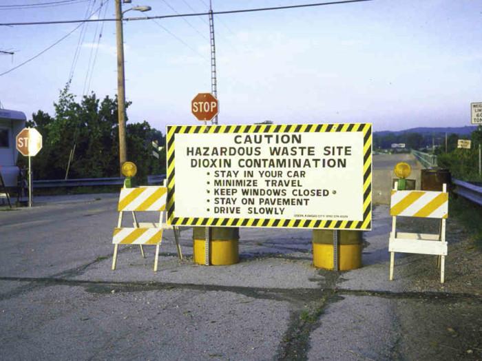 4. Times Beach Sign