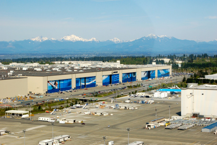 1. 1966-68: The Boeing Factory in Everett was constructed to create some of the world's best aircraft!