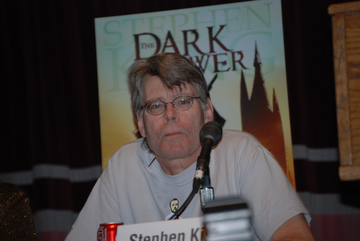 """9. """"Do you see Stephen King all the time?"""""""