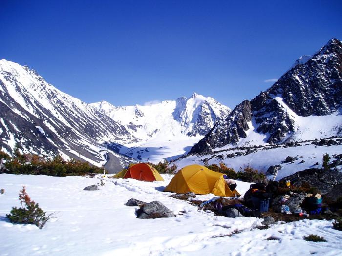 7) A tent!