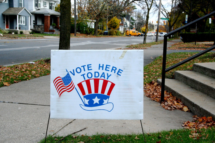 9. Voting in a swing state