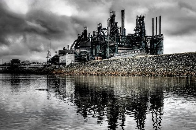 9. Bethlehem Steel Stacks