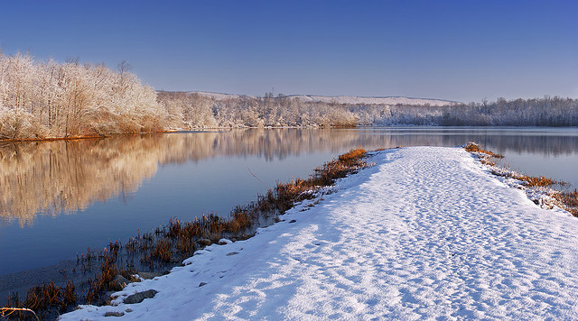 3. The great outdoors will become even more gorgeous and imposing when covered in a blanket of snow.