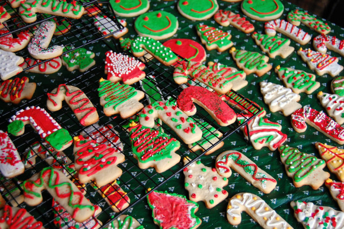 6. Get started on some holiday baking....