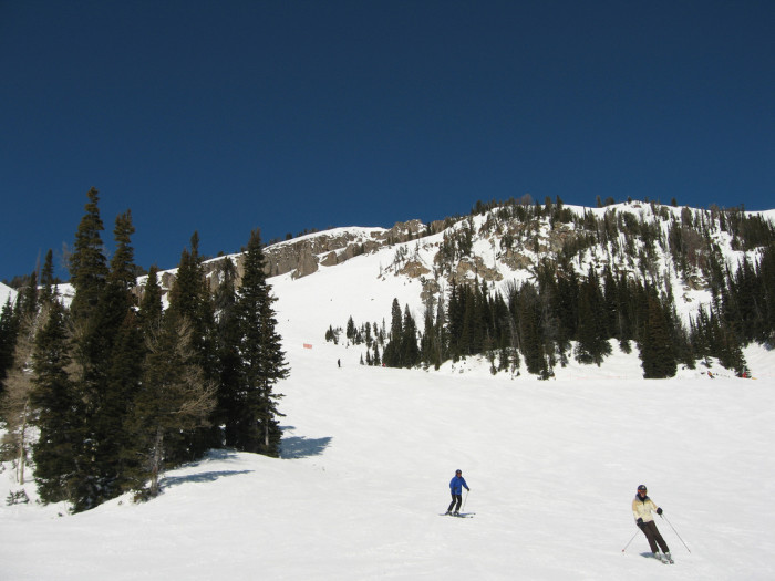"""1. """"Wyoming really does have the best skiing!"""""""