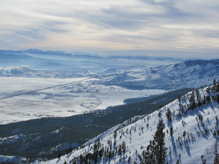 13. Can you believe this winter view from Mt. Rose? It's AMAZING!