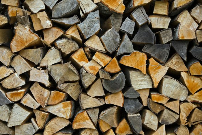 8. Stock up on firewood, wood pellets, and other cold-weather essentials.