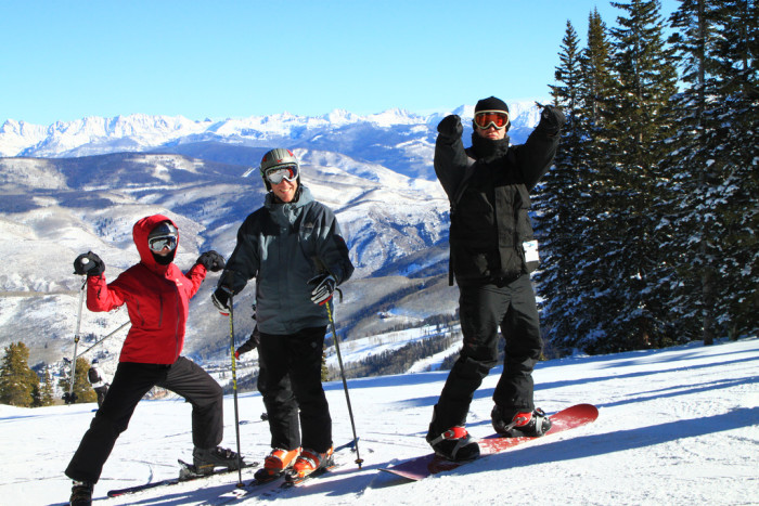 4. We have the best skiing in the country.