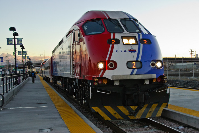15. Ride Frontrunner from Pleasant View to Provo.