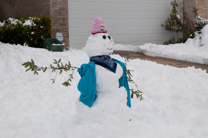 9. And I mean, who doesn't like making snowmen?
