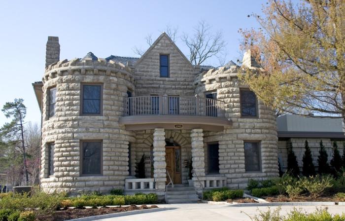 8. Eat like royalty at the Caenen Castle in Shawnee.