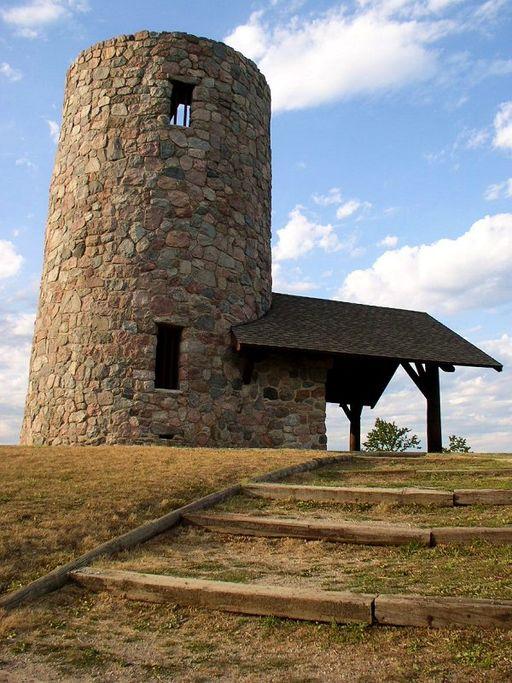 4. Pilot Knob State Park Observation Tower, Forest City