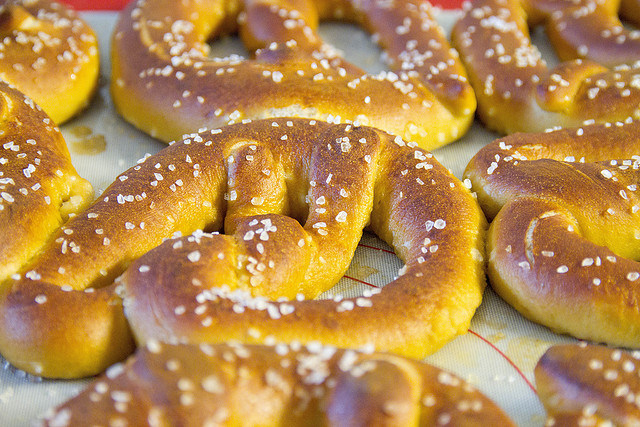 3. So do you eat pretzels with every meal?