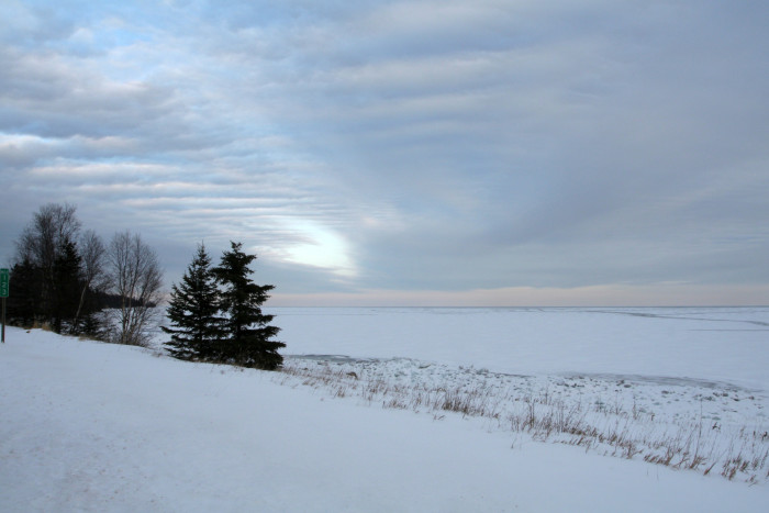 21. Grand Portage looks spectacular completely blanketed in fresh snow.