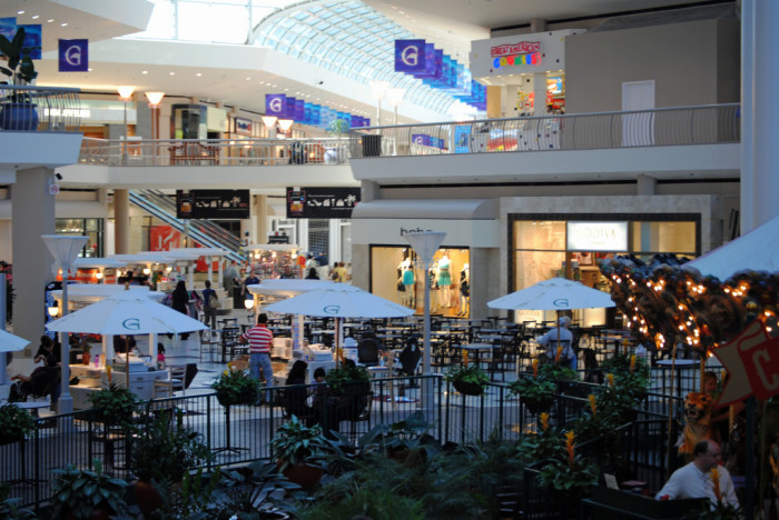 2. Years ago, people actually visited malls to do all of their shopping.