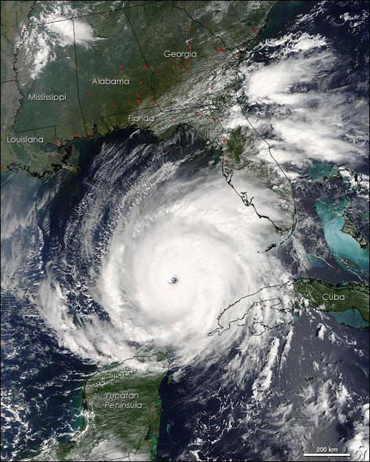 1) Hurricanes