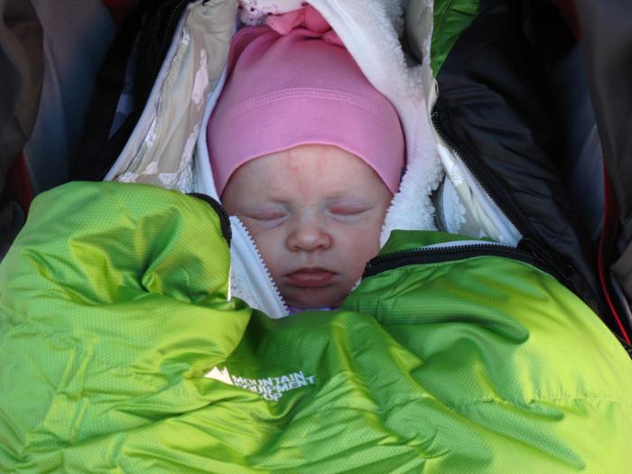 8) A sleeping bag, too.