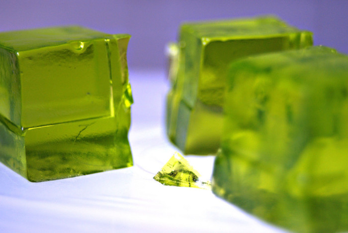 8. What's with the green jello?
