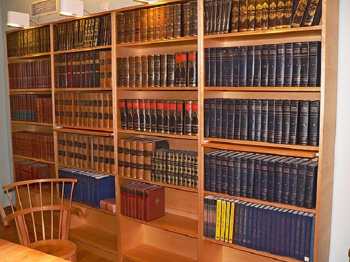 1. Back in the day, we depended on encyclopedias to do our research.