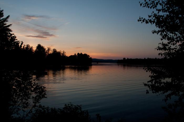 2. Thompson Lake, West Poland