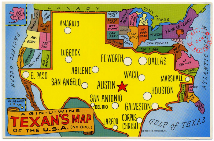 Funny Maps Of Texas - Show me a map of texas