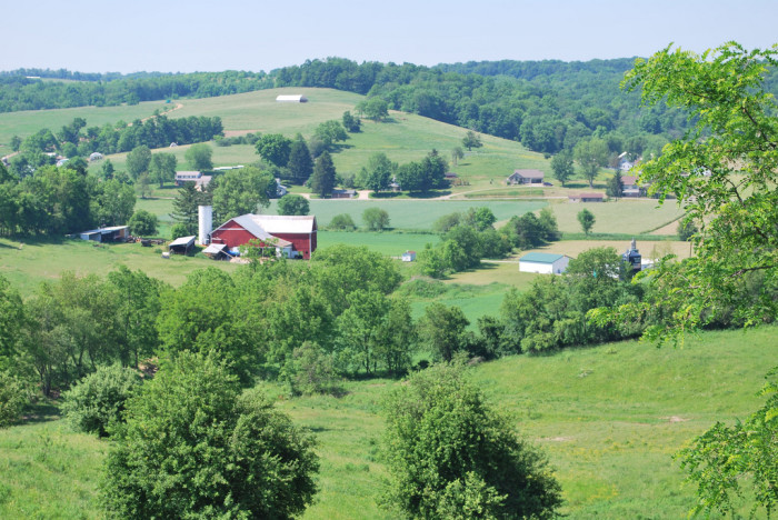 6. The rolling hills of Ohio Amish Country