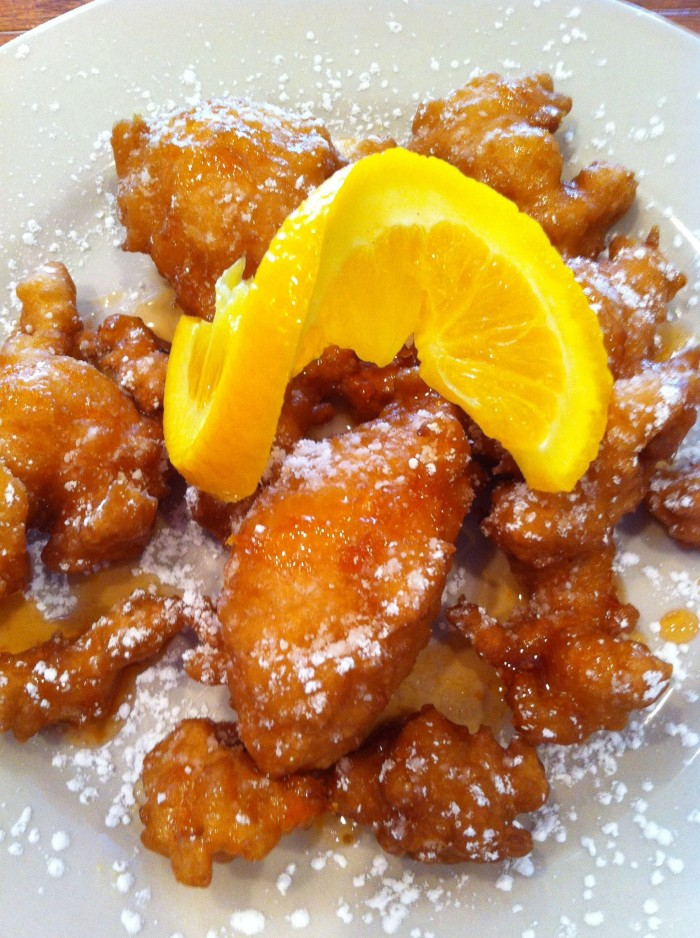 3) Calas Fried Rice Fritters