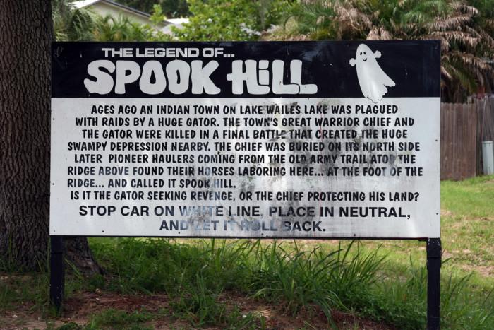 1. Spook Hill, Lake Wales