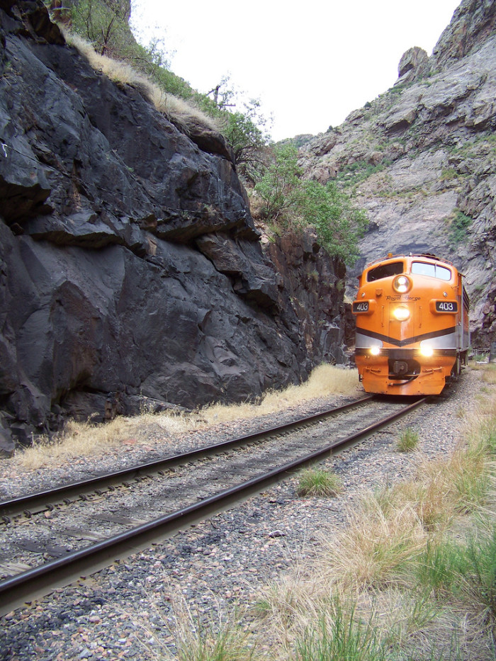 5. Hop aboard the Royal Gorge Route Railroad.