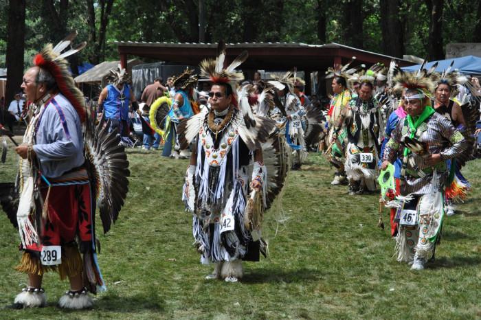 4. Attend a powwow