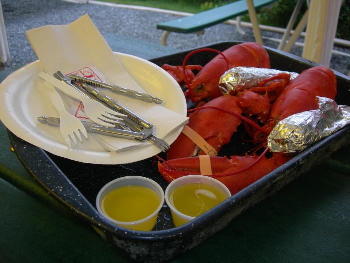 1. Maine's top-notch lobstah.