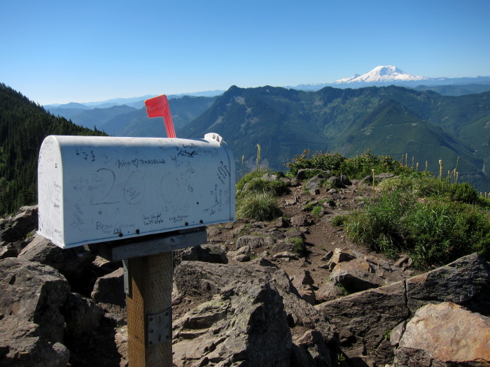 6. Go for an unforgettable hike up to Mailbox Peak.