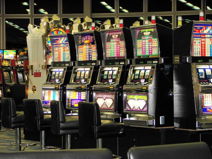 10. The familiar sound of slot machines.