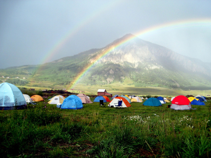 5. A picture perfect camping spot