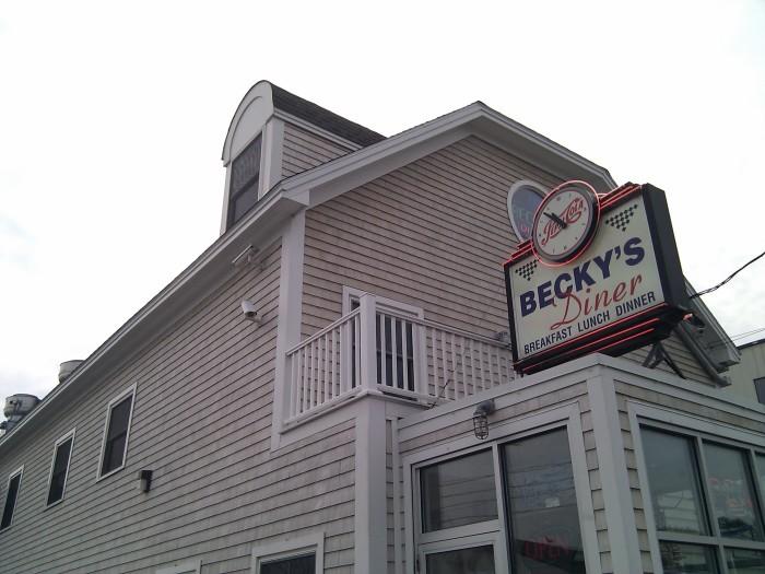1. Becky's Diner, Portland