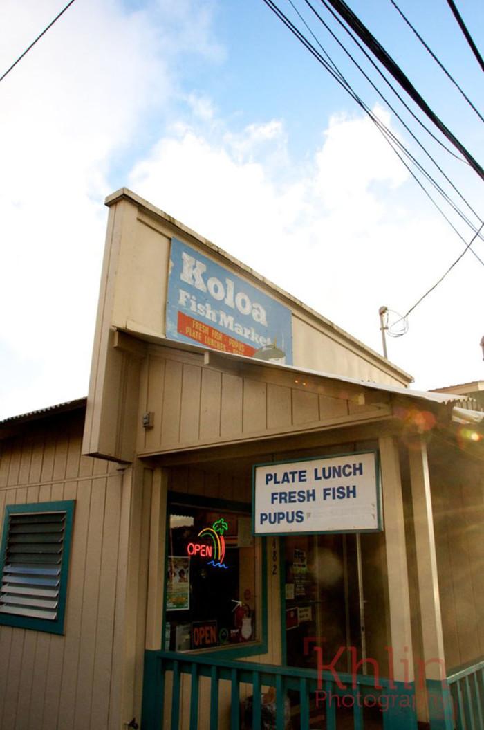 5) Koloa Fish Market, Koloa