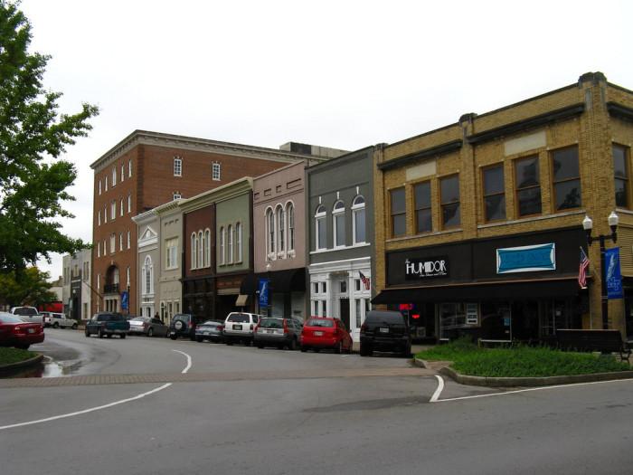 5) Murfreesboro