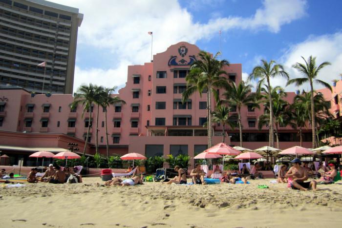 5) The Royal Hawaiian, Oahu