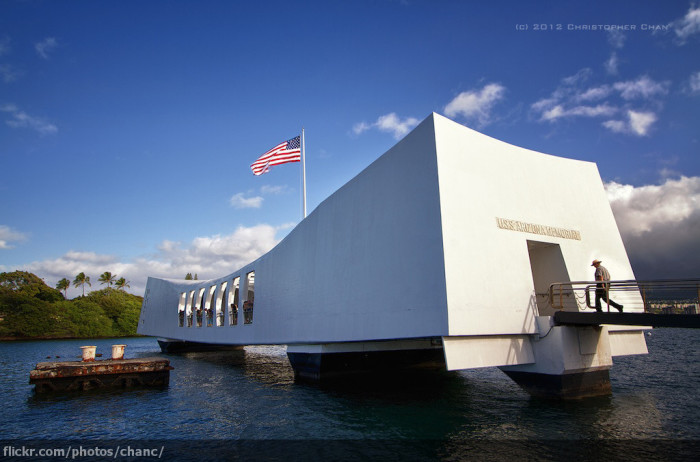 6) Instead of the USS Arizona Memorial...